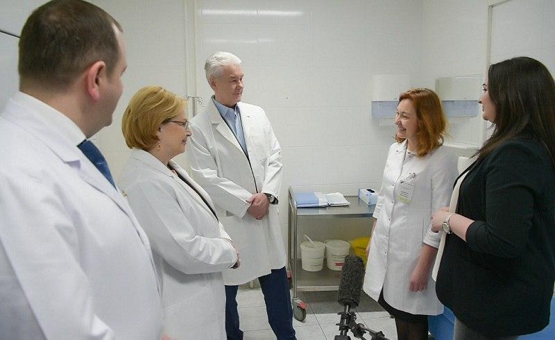Мэр Москвы, Сергей Собянин, рак, онкология, лечение, лекарства, таргетные препараты, иммунные препараты