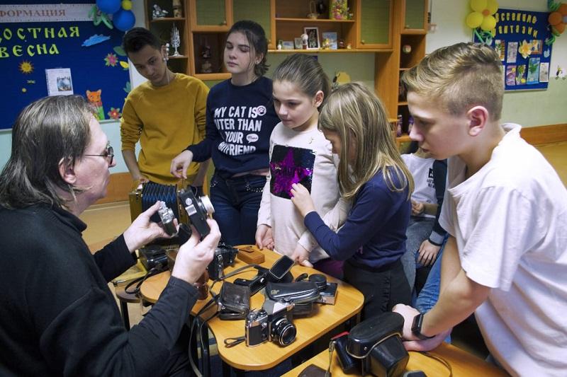ЦСПСиД «Берегиня», Алексей Зайцев, фотограф, отделение дневного пребывания детей и подростков, профориентация