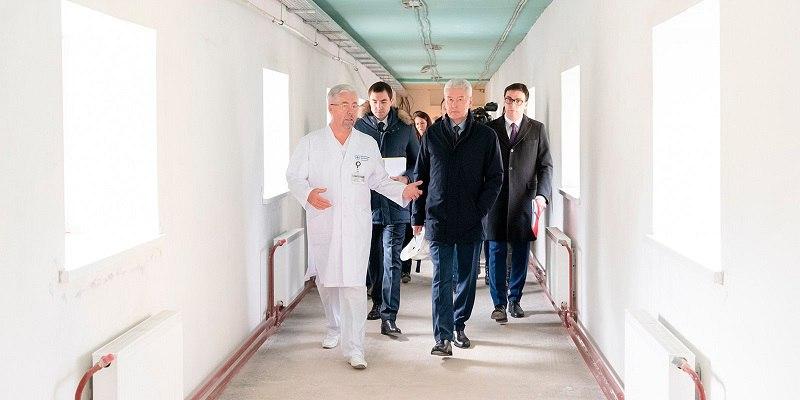Боткинская больница, инновация, модернизация, капитальный ремонт, медицинский персонал, медицинская помощь, стационар, клиника