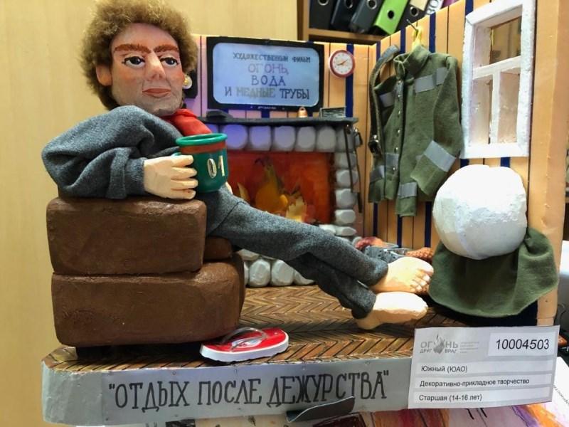 Огонь-друг, огонь-враг: творческие работы школьников Нагатина-Садовников признаны лучшими на городском смотре-конкурсе