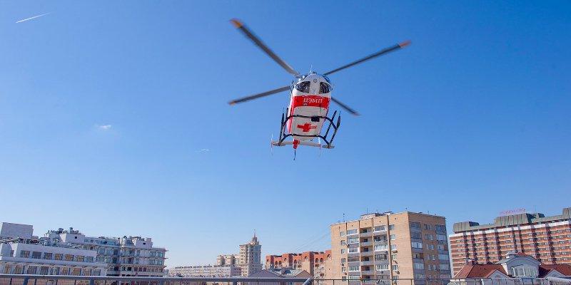 МАЦ, больница имени Юдина, вертолет, сердечно-сосудистая сеть