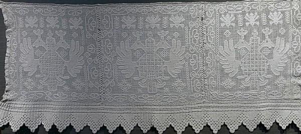 МГОМЗ «Коломенское», выставка, русская вышивка, экспозиция, «Подклет дворца царя Алексея Михайловича»