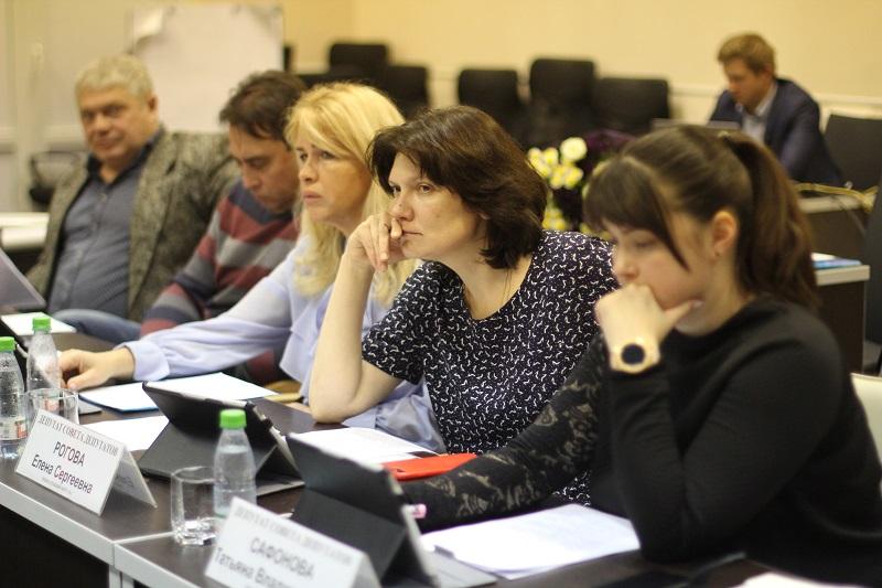 Муниципальные депутаты рассмотрели корректировку проекта межевания участка в Нагатине-Садовниках