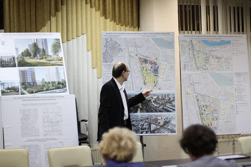 Муниципальные депутаты рассмотрели проект планировки территории микрорайона 1А района Нагатино-Садовники на заседании Совета