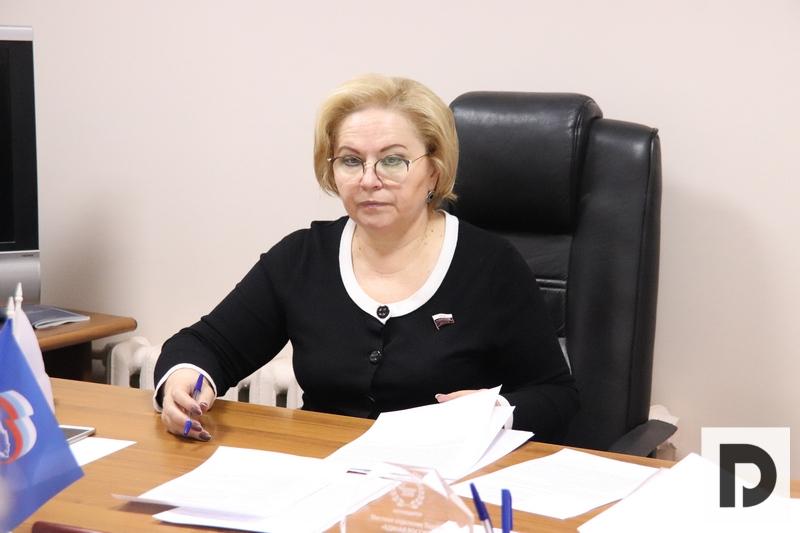 Депутат Государственной Думы РФ Любовь Духанина встретилась с жителями Южного округа