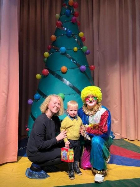 Татьяна Чугунова, школа 507, цирковая семья Питиновых, концерт, представление, елка, Новый год