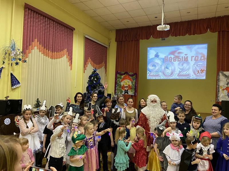 Юлия Кроль, школа 504, здание «Каширское», Новый год, праздник