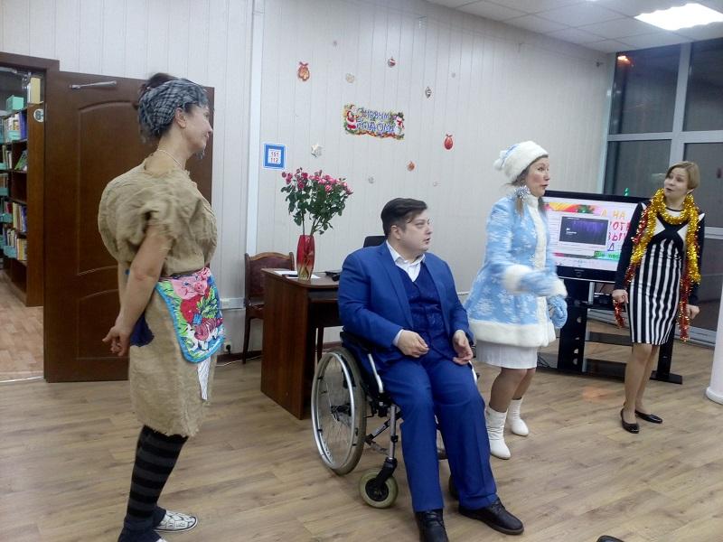 Галина Тутова, библиотека 159, «Бемоль в шоколаде», Новый год