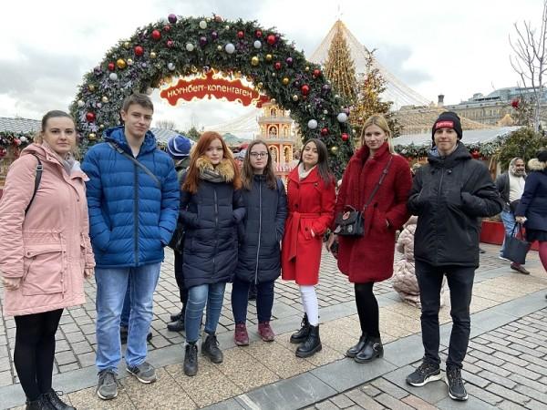 Технологический колледж 34, Новый год, каникулы, Наталья Кузнецова, досуг
