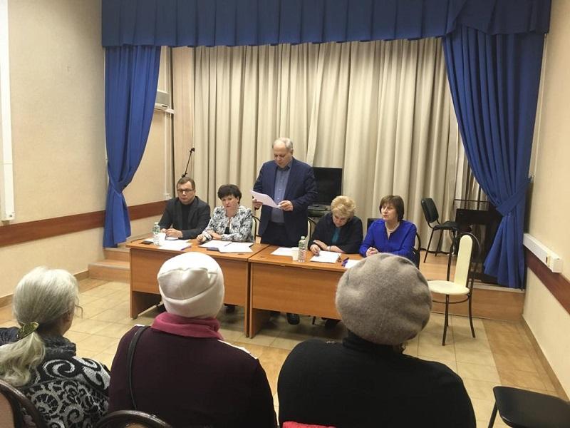 Муниципальные депутаты Нагатина-Садовников провели ежегодные отчетные встречи с избирателями