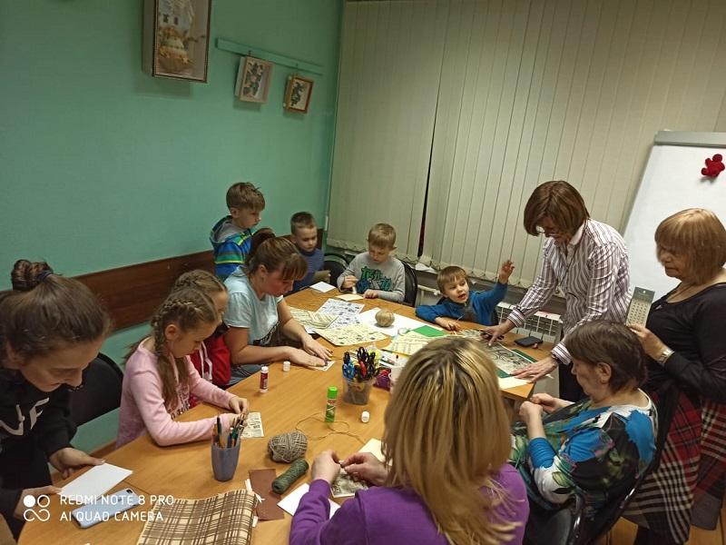 Семейный центр «Берегиня», интерактивная программа, День защитника Отечества