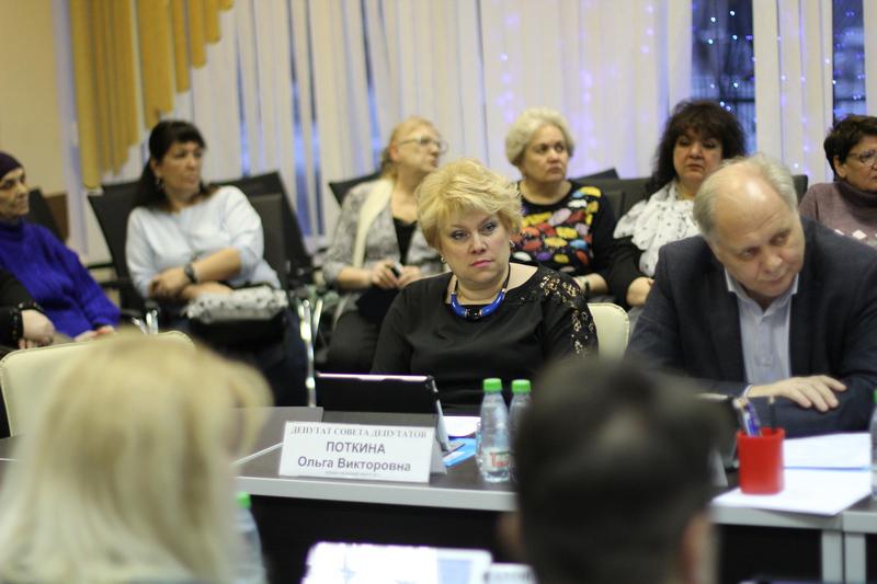 Людмила Кузьмина отчиталась о работе за 2019 год перед муниципальными депутатами и жителями Нагатина-Садовников