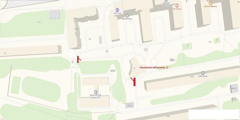 Вопрос о согласовании установки шлагбаумов во дворе на Нагатинской набережной рассмотрят на очередном заседании Совета депутатов