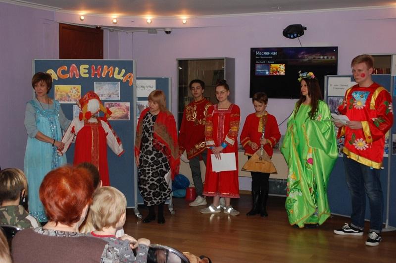 Семейный центр «Берегиня», Масленица, подростковый клуб «VOZДУХ»