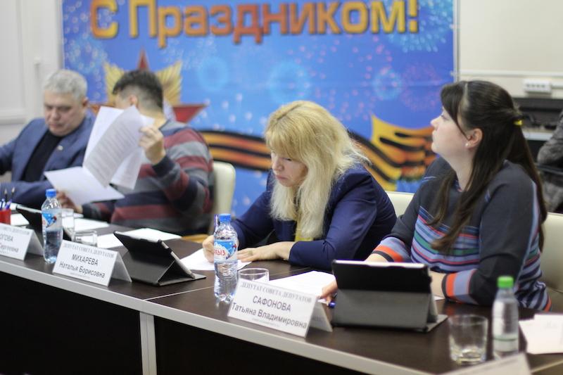 О планах работы бюджетно-финансовой комиссии Совета депутатов Нагатина-Садовников